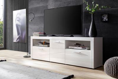 Design lowboard weiß  Design Lowboard Weiss Hochglanz Preisvergleich • Die besten Angebote ...