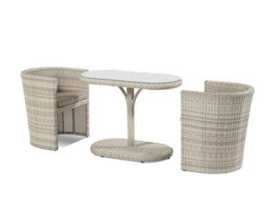 Hartman Balkonset Continental, honey&milk | Garten > Balkon > Balkon-Sets | Schwarz | Hartman Outdoor