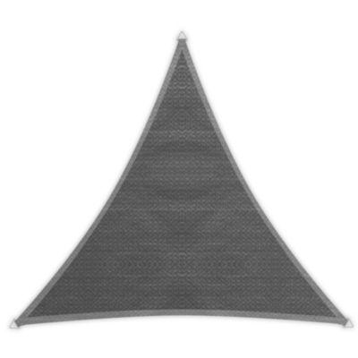 Windhager Dreieck-Sonnensegel Adria, granit - 5,00 m | Garten > Sonnenschirme und Markisen > Sonnensegel | Windhager