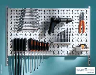 Element System Werkzeuglochwand-Set Organizer 2 | Baumarkt > Werkzeug > Werkzeug-Sets | Element System
