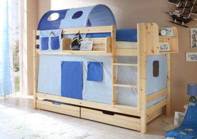 ticaa-etagenbett-marcel-kiefer-natur-hellblau-dunkelblau-