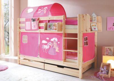 ticaa-etagenbett-marcel-kiefer-natur-horse-pink-