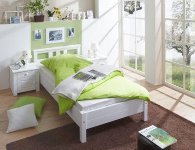 bett 100x200 wei preisvergleich die besten angebote online kaufen. Black Bedroom Furniture Sets. Home Design Ideas
