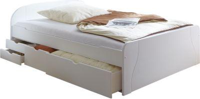weiss kiefer doppelbetten online kaufen m bel suchmaschine. Black Bedroom Furniture Sets. Home Design Ideas
