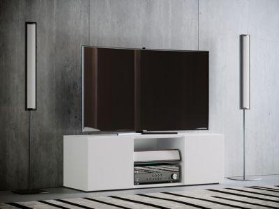 TV - Lowboard ´´Jusa´´ Maxi, Weiß