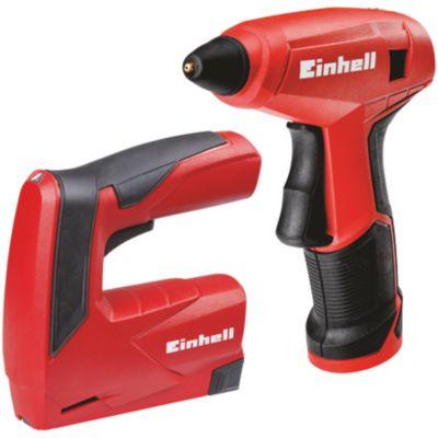 Einhell 4257213 Bastel Set TC-TK 3,6 Li (Tacker & Heißklebepistole)   Baumarkt > Werkzeug > Hobel und Tacker   Einhell