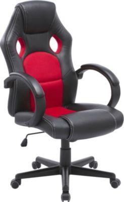 ARTE home Chefsessel AY 544 Kunstleder, schwarz-rot | Büro > Bürostühle und Sessel  > Chefsessel | ARTE home