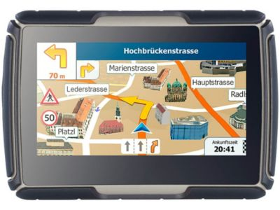 NavGear TourMate N4 Navigationssystem mit West-...