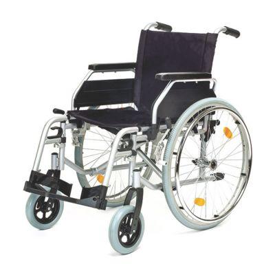 Servomobil Rollstuhl aus Stahl, Sitzbreite 43-4...