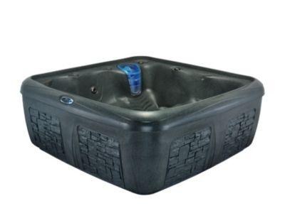 Interline Dream Maker Whirlpool Odyssey, Blackstone/Grey Brick | Bad > Badewannen & Whirlpools > Whirlpools | Interline
