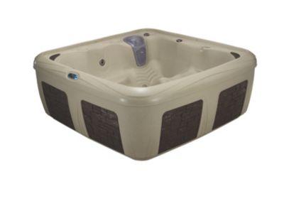 Interline Dream Maker Whirlpool Odyssey, Cobblestone/Espresso Brick | Bad > Badewannen & Whirlpools > Whirlpools | Espresso | Interline