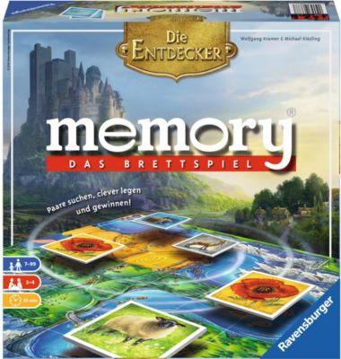 Ravensburger memory® Das Brettspiel - Die Entde...