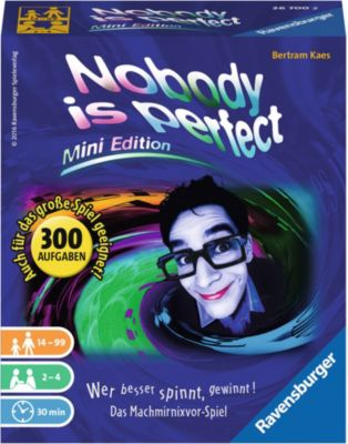 Ravensburger Nobody is perfect - Mini Edition