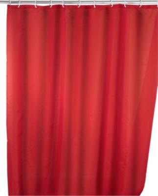 Anti-Schimmel Duschvorhang Uni Red 180 x 200 cm...