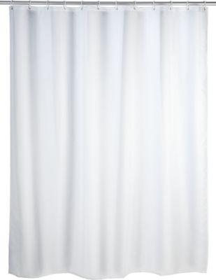 Anti-Schimmel Duschvorhang Uni White 180 x 200 ...