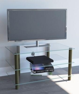 TV-Möbel ´´Netasa Messing Gold Farben´´ | LCD Rack, LED Tisch Alu Glas