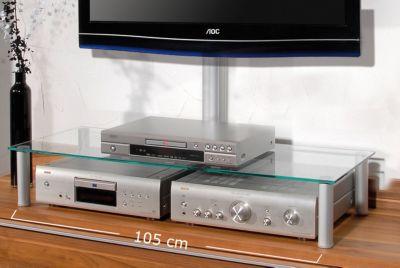 VCM TV Glasaufsatz ´´Felino Mini´´ | Tisch Aufs...