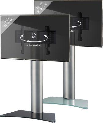 TV-Standfuß ´´Findal´´ ohne Zwischenboden   Rack, Ständer aus Alu