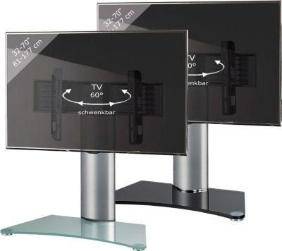 VCM TV-Standfuß ´´&#39Windoxa Maxi´´   TV Fernseh Aufsatz Fuß Erhöhung drehbar   Wohnzimmer > TV-HiFi-Möbel > Ständer & Standfüße   Aluminium - Sicherheitsglas   VCM