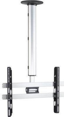 Universelle TV-Deckenhalterung 42-65 Zoll (106-165 cm) Deckenhalter neigar schwenkbar höhenverstellbar 74-130 cm ´´CM4´´ für LED LCD Plasma Fernseh Befestigung
