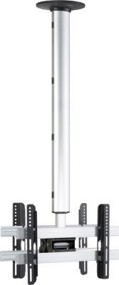 Universelle Duo TV-Deckenhalterung 26-40 Zoll (66-101 cm) Deckenhalter neigar schwenkbar höhenverstellbar 127-238 ´´CM3 Maxi Double´´ für Zwei Doppelt LED LCD Plasma Fernseh Befestigung