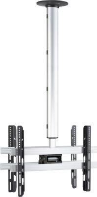 Universelle Duo TV-Deckenhalterung 42-65 Zoll (106-165 cm) Deckenhalter neigar schwenkbar höhenverstellbar 127-238 cm ´´CM4 Maxi Double´´ für Zwei Doppelt LED LCD Plasma Fernseh Befestigung