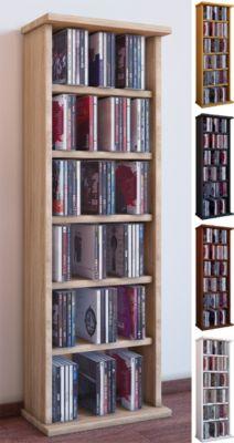 CD / DVD Möbel ´´Vostan´´ | Schrank / Regal ohne Glastür in 7 Farben
