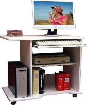 pc schreibtisch wei preisvergleich die besten angebote online kaufen. Black Bedroom Furniture Sets. Home Design Ideas