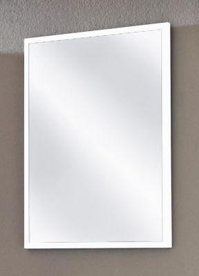VCM Badspiegel Carlos | Rahmen in weiß / weiß E...