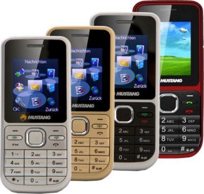 VCM Handy ohne Vertrag ´´Mustang M31´´ | Dual SIM, Quad Band, MP3 / MP4 Wiedergabe