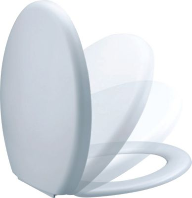 wc sitz toilettendeckel mit absenkautomatik preisvergleich die besten angebote online kaufen. Black Bedroom Furniture Sets. Home Design Ideas