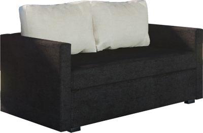 2er Couch ´´Engol Schwarz´´ / Sofa mit Schlaffunktion