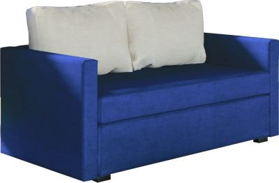 2er Couch ´´Engol Blau´´ / Sofa mit Schlaffunktion
