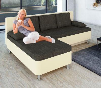 leder ecksofa mit schlaffunktion preisvergleich die. Black Bedroom Furniture Sets. Home Design Ideas