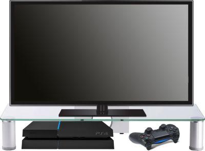 VCM TV-Aufsatz Pocasa | Aufsatz Erhöhung Fernseh Glas