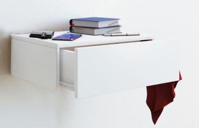 Wandschublade Blado-1 | Wandregal, Wandablage, Dielenmöbel, Ablage, Hängeschrank, Schublade