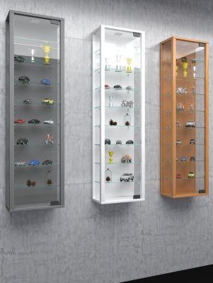 VCM Wandvitrine Sammelvitrine Glasvitrine Wand Vitrine Regal Schrank Glas Hängevitrine ´´Stano Maxi´´ | Wohnzimmer > Vitrinen > Hängevitrinen | Sicherheitsglas - Nachbildung | VCM