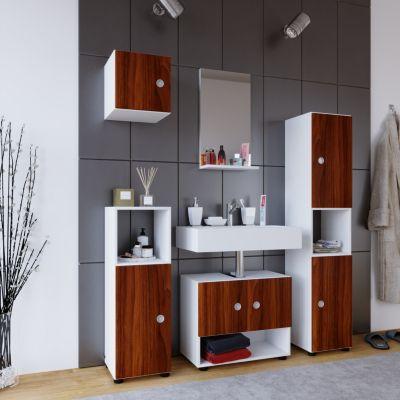 schrank badezimmer preisvergleich die besten angebote. Black Bedroom Furniture Sets. Home Design Ideas