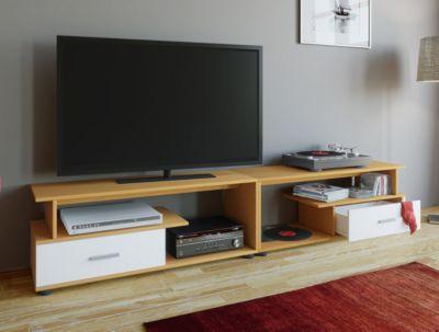 tv lowboards holz preisvergleich die besten angebote online kaufen. Black Bedroom Furniture Sets. Home Design Ideas