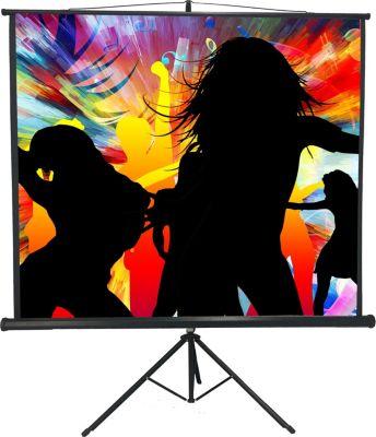 VCM Mobile HDTV Stativ Beamer Projektor Leinwan...