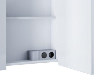 VCM Steckdosenleiste inkl. Lichtschalter Tenas | Baumarkt > Elektroinstallation | Aluminium | VCM