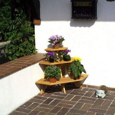 Blumentreppe Eckelement
