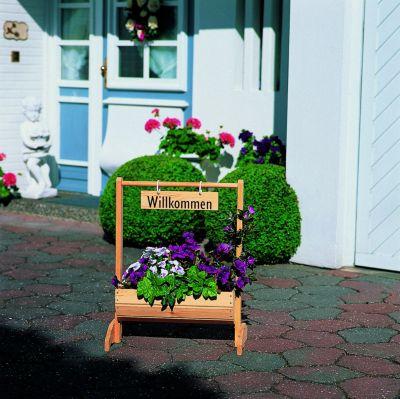 Blumentrog ´´Willkommen´´ klein