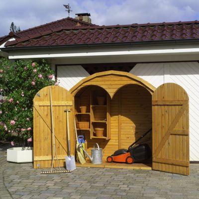 Promadino Geräteschrank Roma´´, groß´´   Garten > Gerätehäuser   Promadino