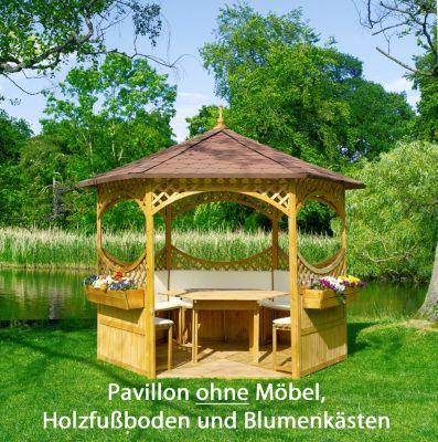 promadino-pavillon-palma-mit-bitumenschindeldach, 1018.49 EUR @ plus-de