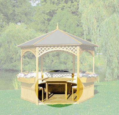 Promadino Möbel für Pavillon ´´Palma´´ und ´´Vi...