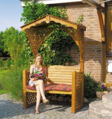 Gartenlaube ´´Starnberg´´ mit Sitzauflage