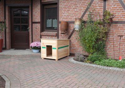 COLOUR YOUR OWN Hundehütte CYO Korpus:natur/ PV...