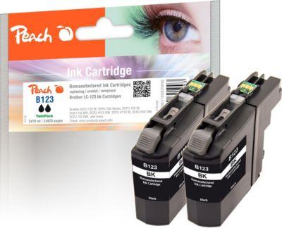 peach-doppelpack-tintenpatronen-schwarz-kompatibel-zu-brother-lc-123-wiederaufbereitet-