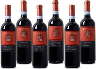Reggio - Barbera - Piemonte DOC Rotwein aus Italien 2014 trocken